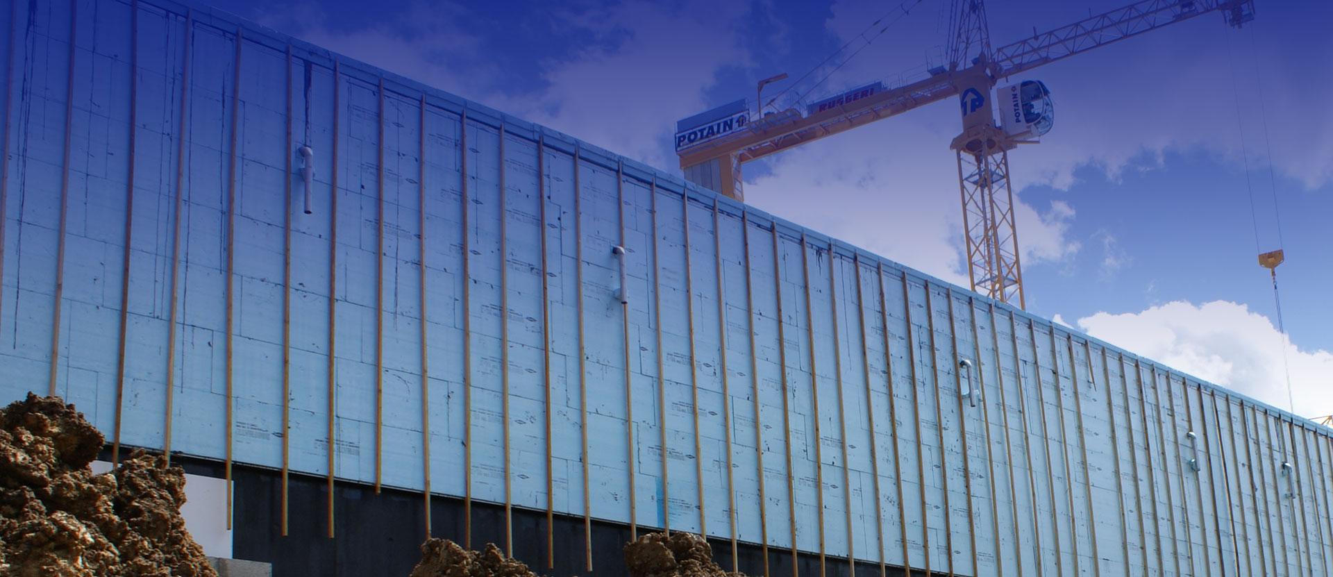 Dow - Isolation murs extérieurs avec XPS